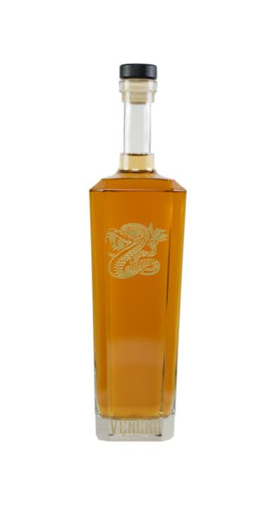 Bottle of Veneno Tequila Extra Añejo