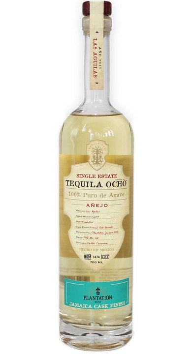 Bottle of Ocho Tequila Añejo - Cask Finish - Plantation Jamaica