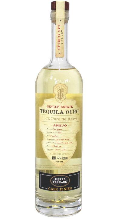 Bottle of Ocho Tequila Añejo - Cask Finish - Pierre Ferrand
