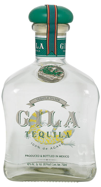 Bottle of Gila Tequila Silver