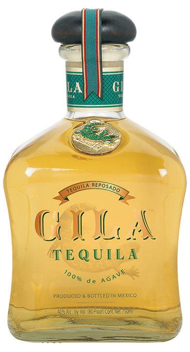 Bottle of Gila Tequila Reposado