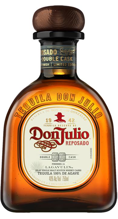 Bottle of Don Julio Reposado Double Cask Lagavulin