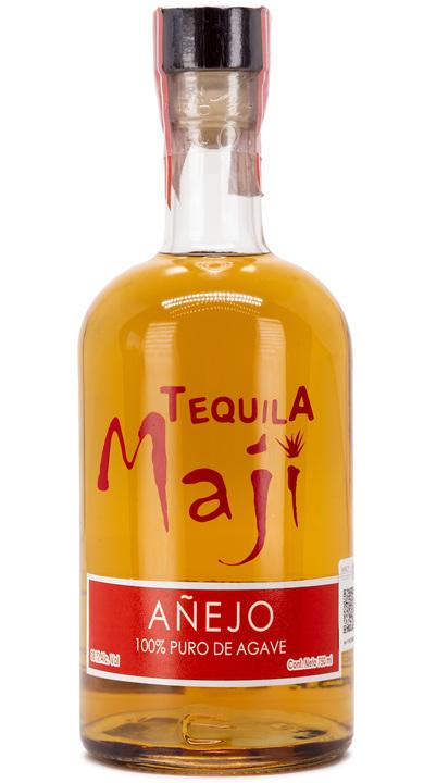 Bottle of Tequila Maji Añejo