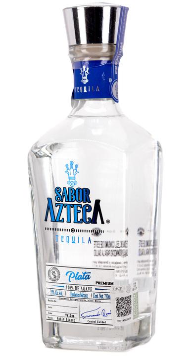 Bottle of Sabor Azteca Plata