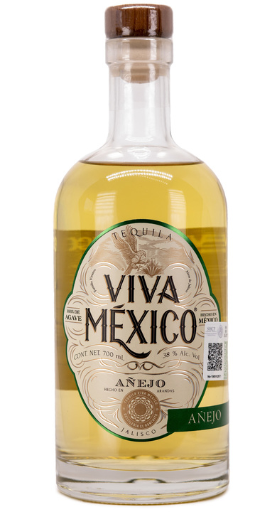 Bottle of Viva Mexico Añejo