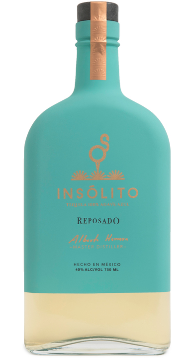Bottle of Insólito Reposado