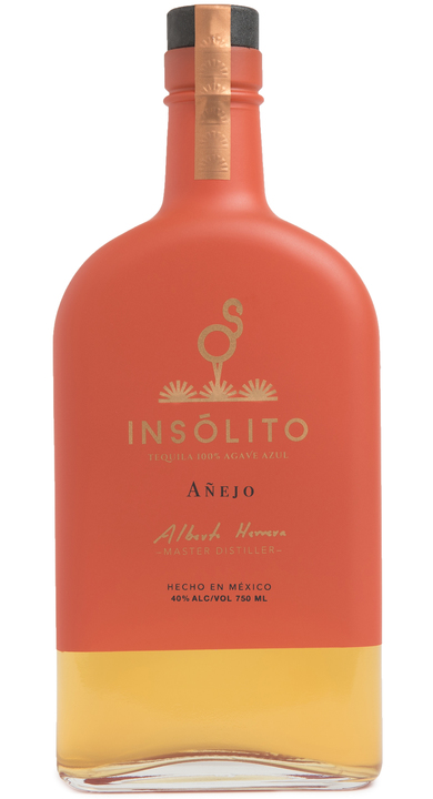 Bottle of Insólito Añejo