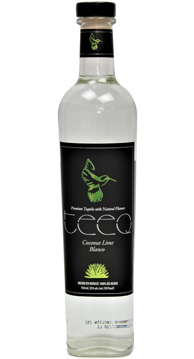 Bottle of Teeq Coconut Lime