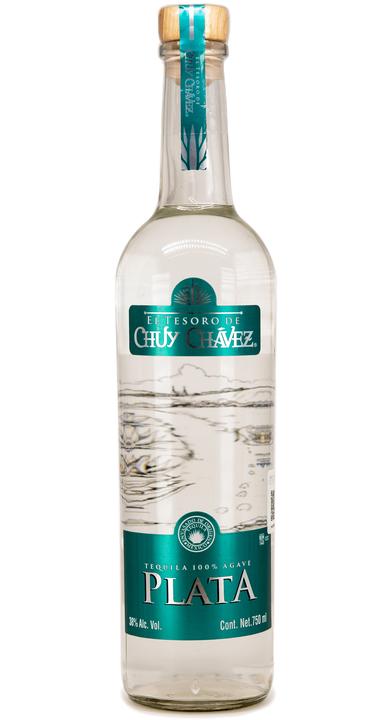 Bottle of El Tesoro de Chuy Chavez Plata