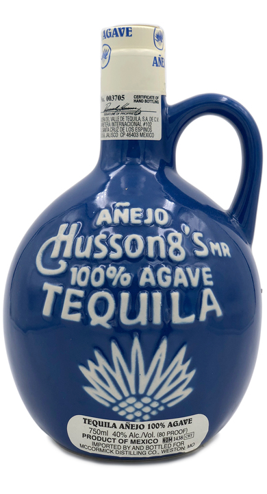 Bottle of Hussong's Añejo