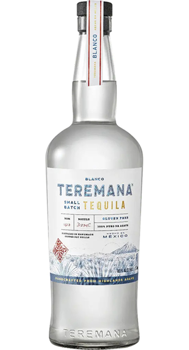 Bottle of Teremana Tequila Blanco