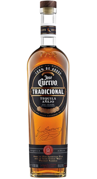 Bottle of Jose Cuervo Tradicional Añejo