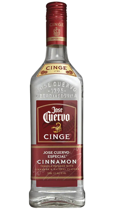 Bottle of Jose Cuervo Cinge