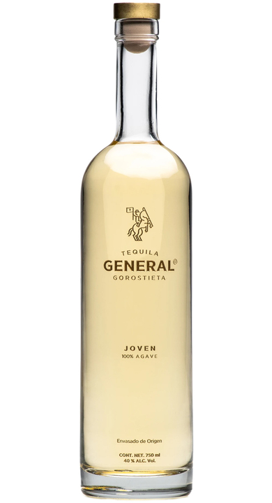 Bottle of Tequila General Gorostieta Joven
