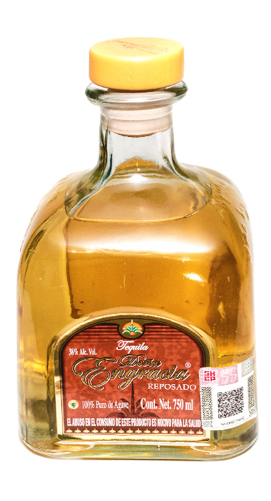Bottle of Doña Engracia Reposado