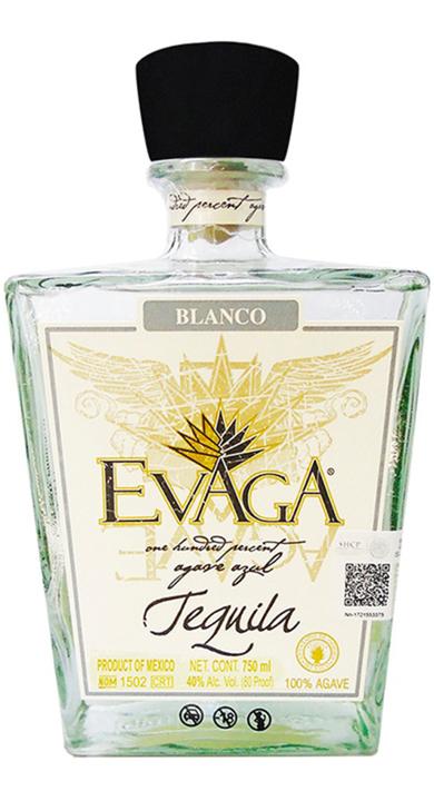 Bottle of Evaga Blanco