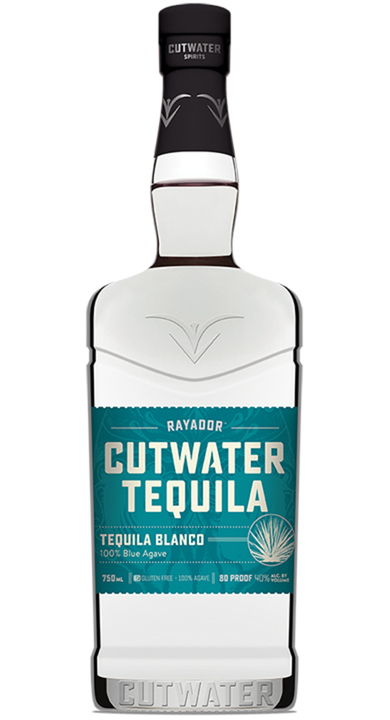 Bottle of Rayador Cutwater Tequila Blanco