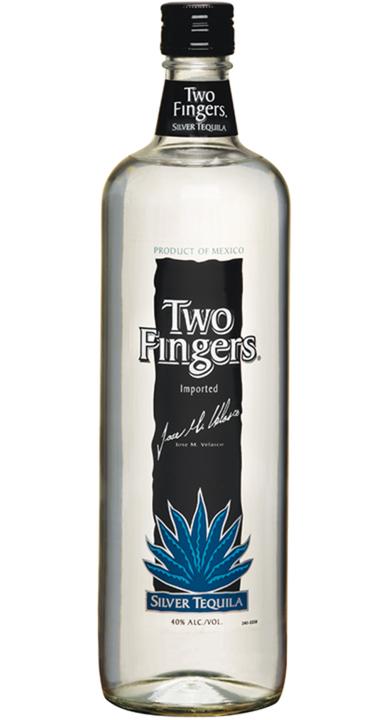 Bottle of Two Fingers Silver