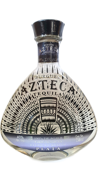 Bottle of Burgues Azteca Tequila Plata