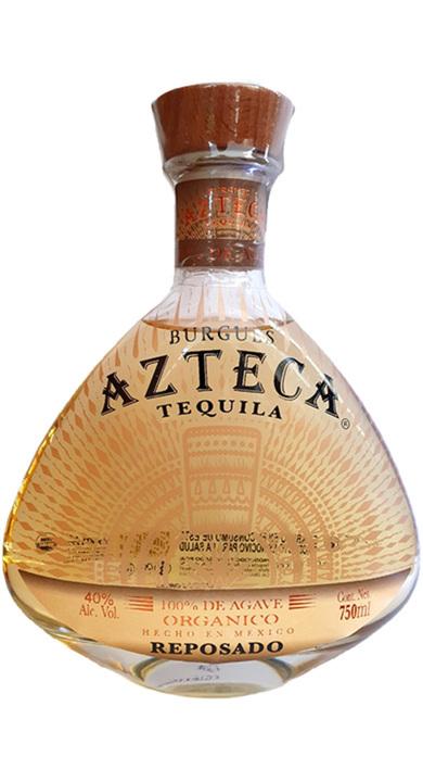 Bottle of Burgues Azteca Tequila Reposado