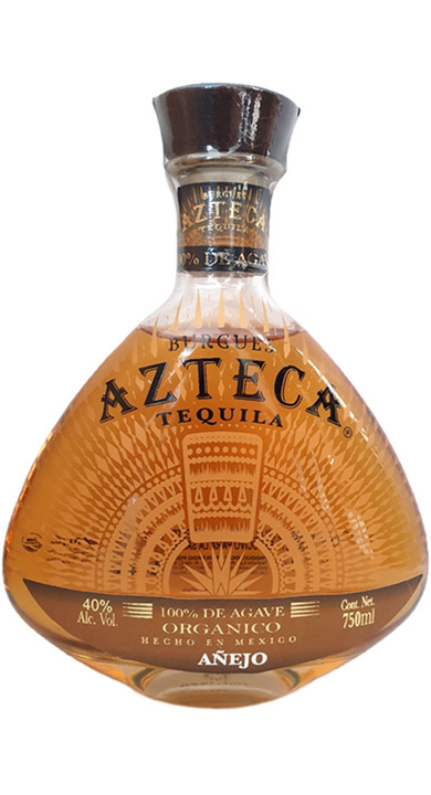 Bottle of Burgues Azteca Tequila Añejo