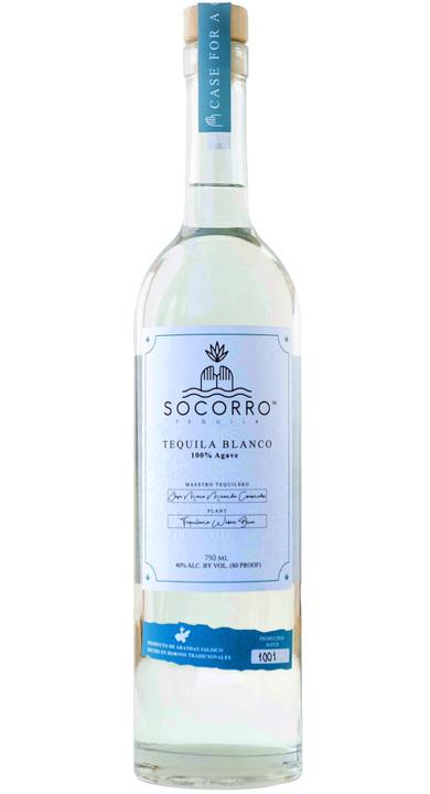 Bottle of Socorro Tequila Blanco