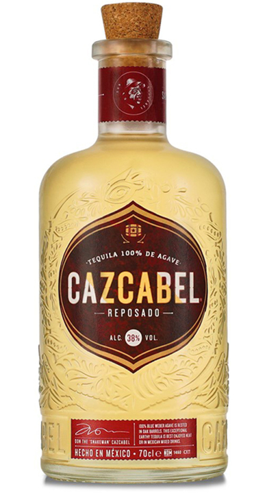 Bottle of Cazcabel Reposado