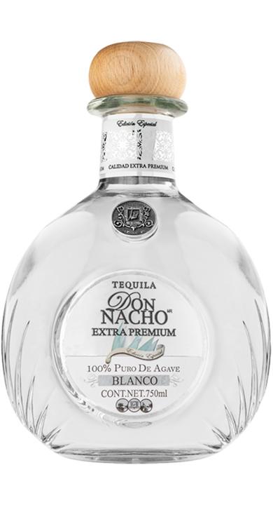 Bottle of Don Nacho Extra Premium Blanco
