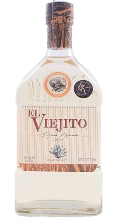 Bottle of El Viejito Reposado