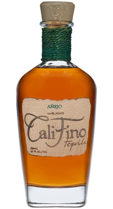 Bottle of CaliFino Tequila Añejo