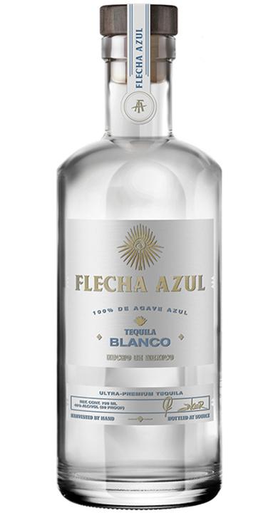 Bottle of Flecha Azul Tequila Blanco