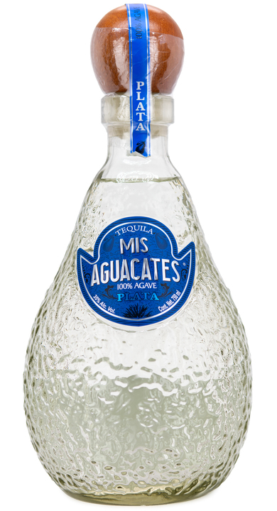 Bottle of Mis Aguacates Plata