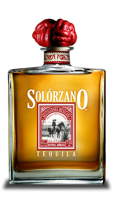 Bottle of Solorzano Extra Añejo (Lost Barrel Edition)