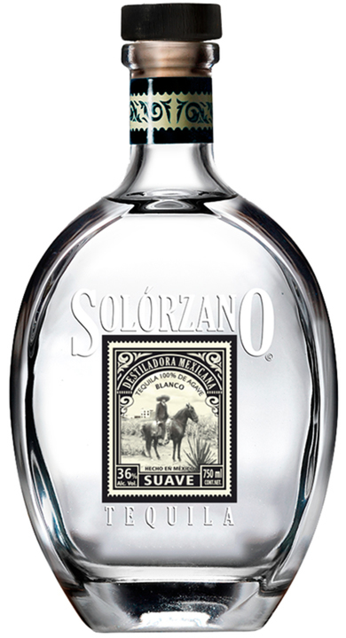 Bottle of Solorzano Blanco Suave