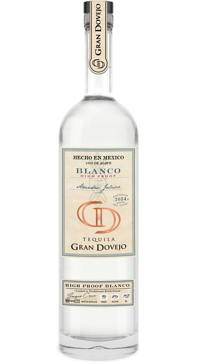 Bottle of Gran Dovejo Blanco High Proof