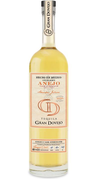 Bottle of Gran Dovejo Cask Strength Single Barrel Añejo