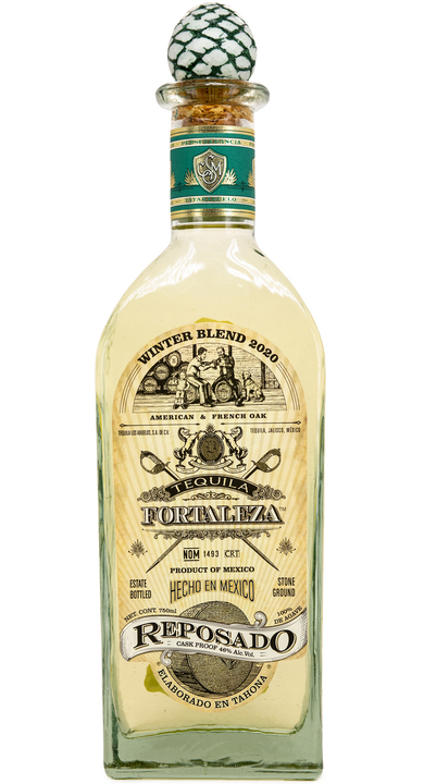 Bottle of Fortaleza Reposado - Winter Blend 2020