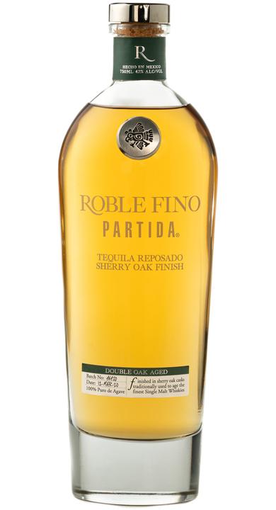 Bottle of Partida Roble Fino Tequila Reposado