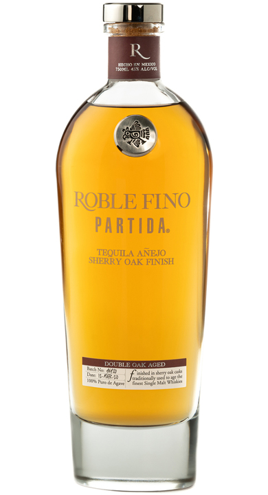 Bottle of Partida Roble Fino Tequila Añejo