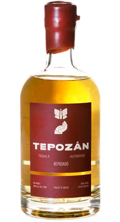 Bottle of Tepozan Reposado