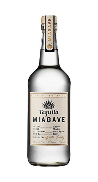 Bottle of Tequila Miagave Blanco