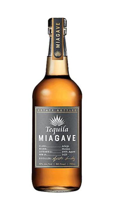 Bottle of Tequila Miagave Añejo