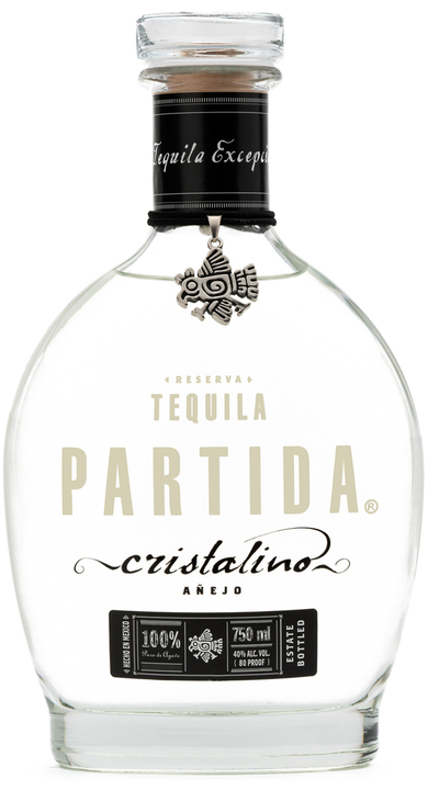 Bottle of Partida Cristalino Añejo