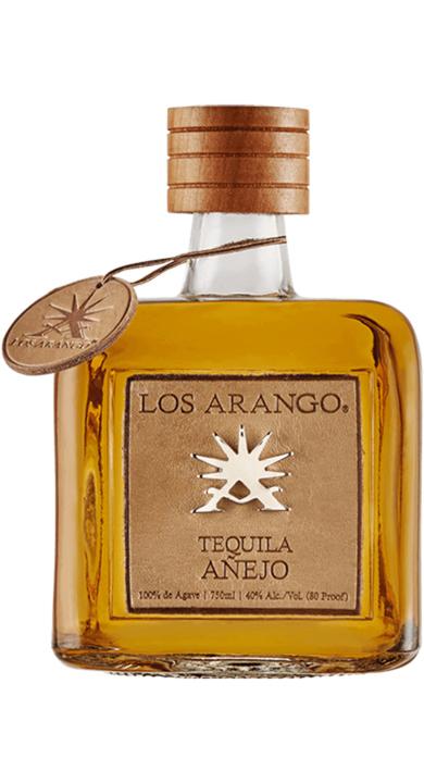 Bottle of Los Arango Añejo