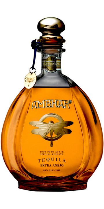 Bottle of Ambhar Extra Añejo