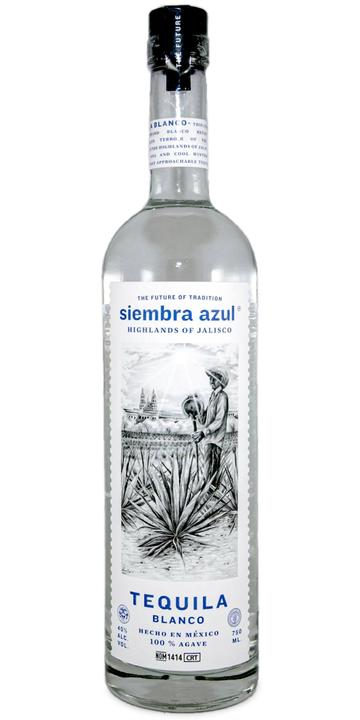 Bottle of Siembra Azul Blanco