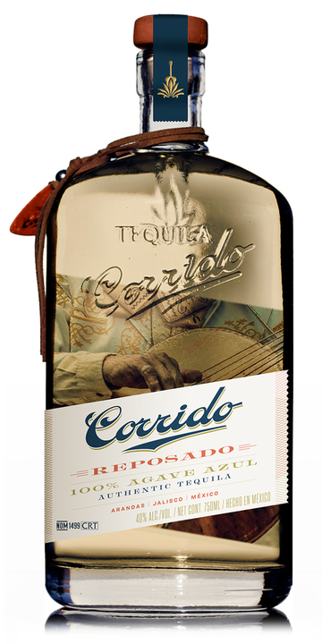 Bottle of Corrido Reposado