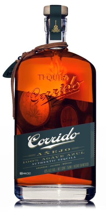 Bottle of Corrido Añejo