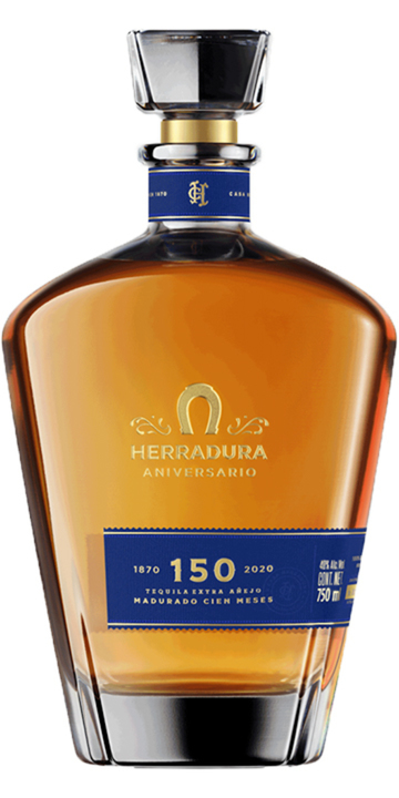Bottle of Herradura Aniversario Extra Añejo