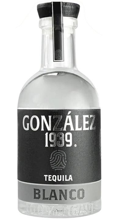 Bottle of González 1939 Tequila Blanco